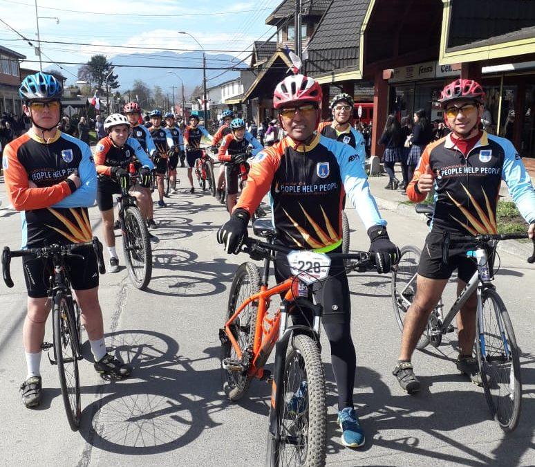 Desfile de Rama de Mountainbike